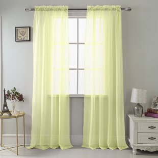 Sheer Mint Green Curtains