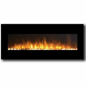 Milan Pebbles Wall Mount Electric Fireplace by Gibson Living