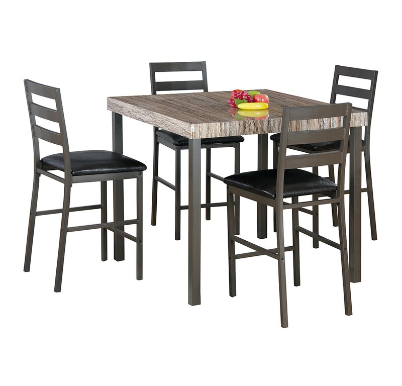 Superieur Latitude Run Cora 5 Piece Bistro Dining Set | Wayfair