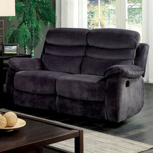 Ellicott Reclining Loveseat by Red Barrel St..