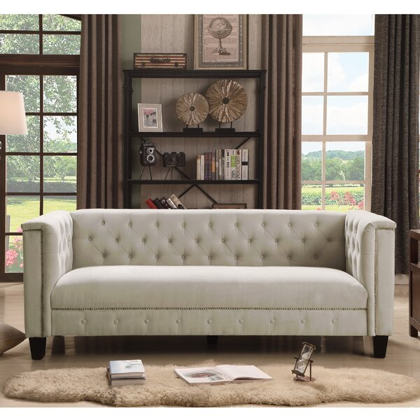Willa Arlo Interiors Broughtonville Chesterfield Sofa U0026 Reviews | Wayfair