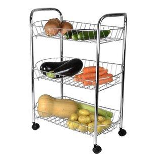 3 Metal Basket Vegetable Rack
