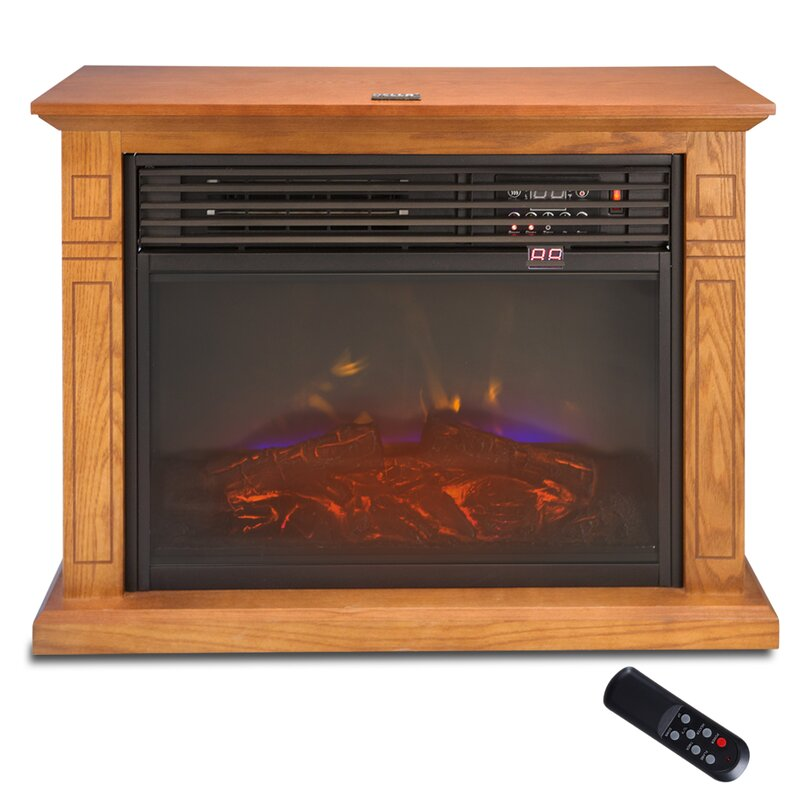 dp infrared portable fireplace amazon electric lifepro element com heater ls quartz