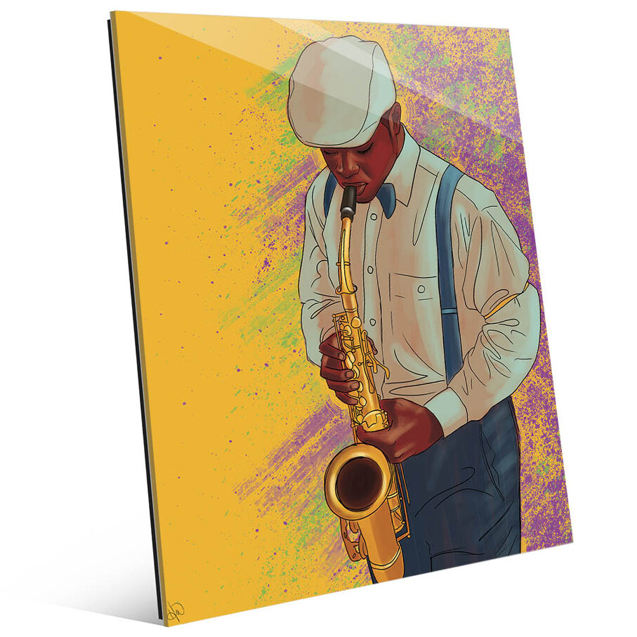 Perfect Saxophone Wall Art Motif - Art & Wall Decor - hecatalog.info