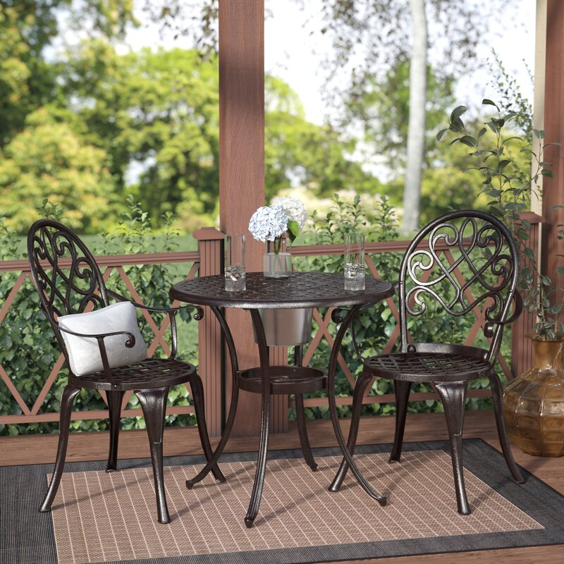 Exceptionnel Chestnut Street 3 Piece Bistro Set