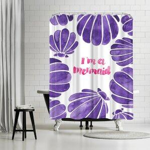 Elena Oneill Im A Mermaid Shower Curtain