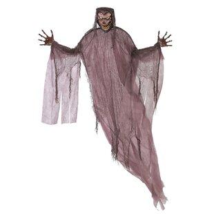 halloween werewolf hanging prop