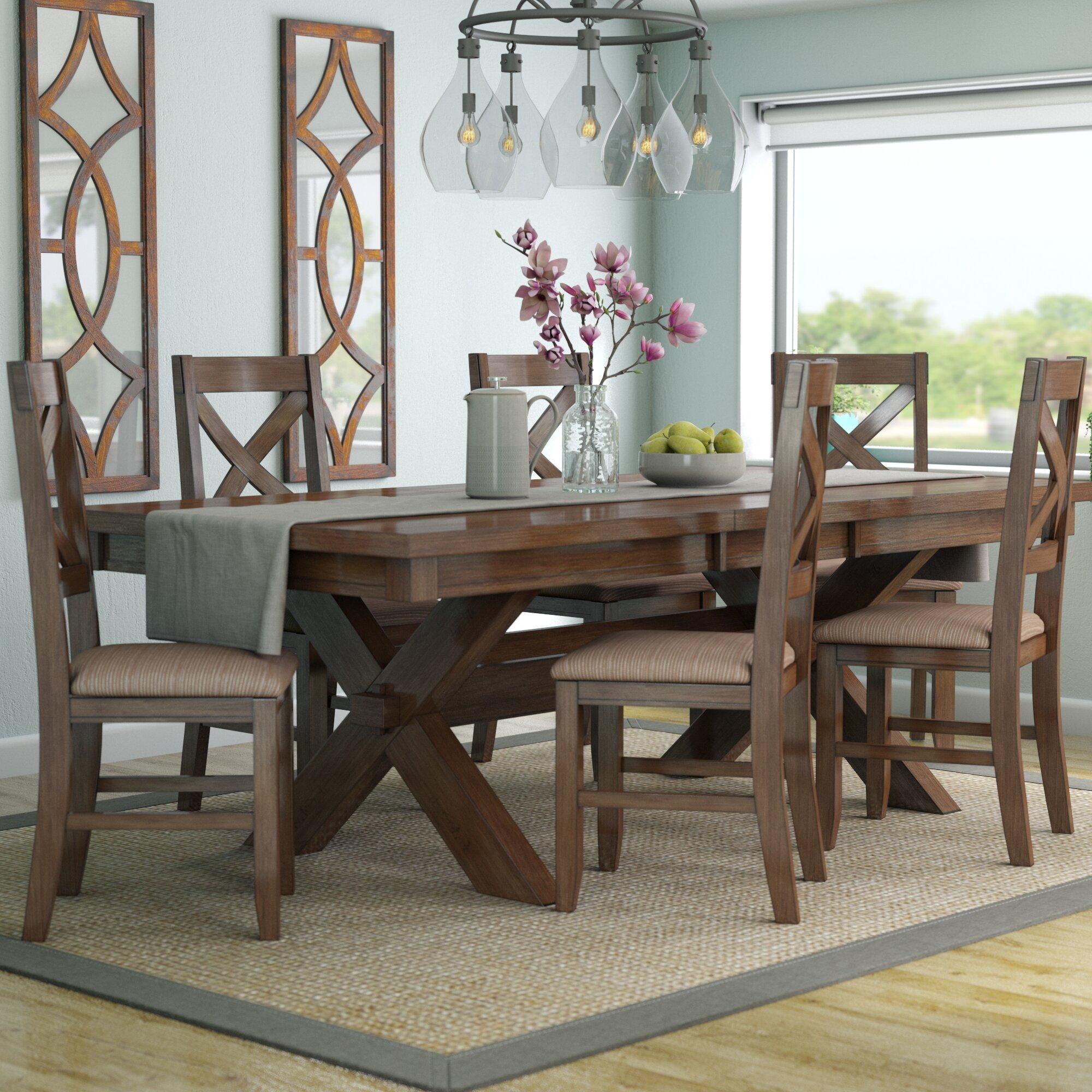 Laurel Foundry Modern Farmhouse Isabell 7 Piece Dining Set U0026 Reviews |  Wayfair