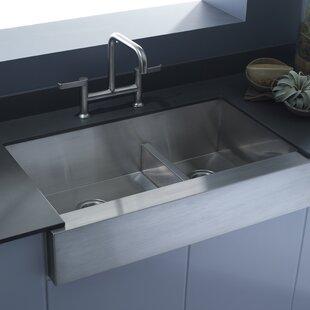 Vault 35 5 L X 21 25 W Farmhouse A Kitchen Sink