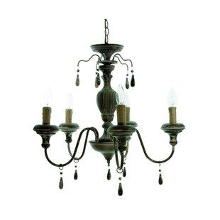 Black plug in chandelier wayfair 5 light chandelier aloadofball Image collections