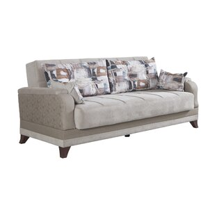 Silva 3 Seater Convertible Sleeper Sofa by S..