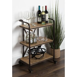 Grote Metal Bar Cart