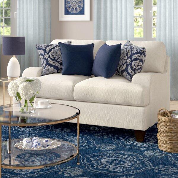 simmons upholstery hattiesburg stone loveseat reviews joss main. Black Bedroom Furniture Sets. Home Design Ideas