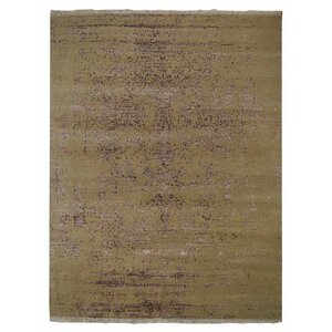 Ry Persian Hand Knotted Wool Cream Area Rug