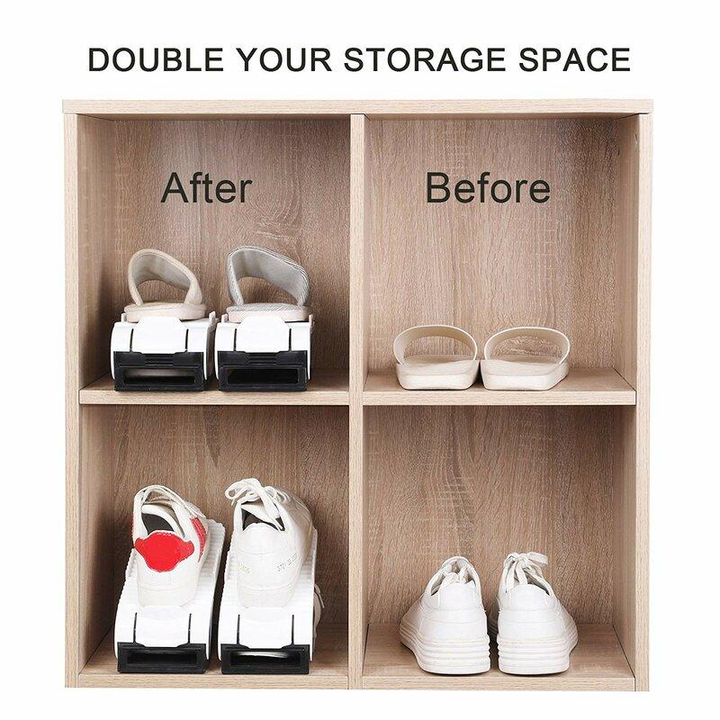 Shoe Storage Organizer Space Saving Holder