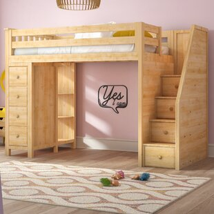 Bunk Beds With Desk Under Wayfair