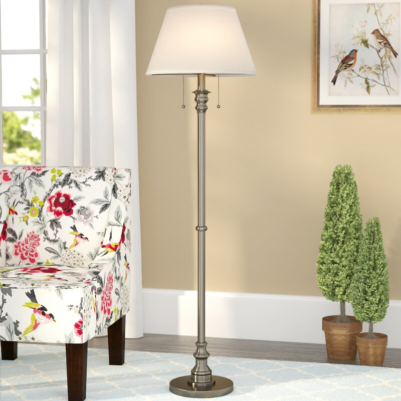 Three Posts Morrisdale 595 Floor Lamp Reviews Wayfair
