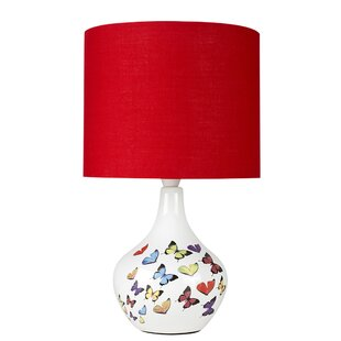 Red table lamps wayfair save aloadofball Choice Image