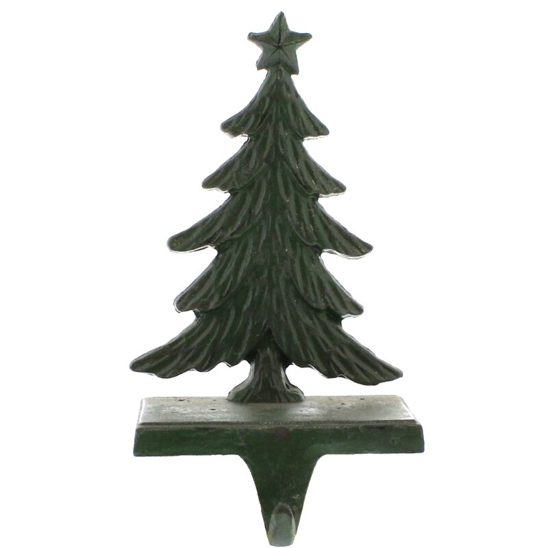 The Holiday Aisle Christmas Tree Cast Iron Stocking Holder Reviews