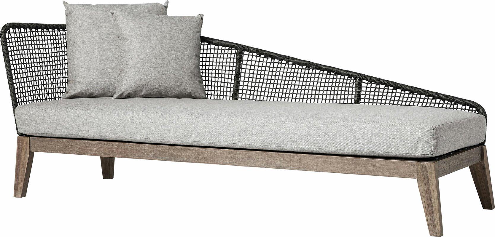 Modloft Netta Patio Sofa With Cushion Reviews