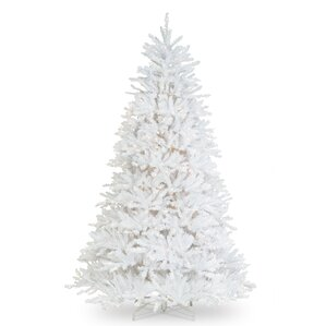 fir 90 hinged tree with 750 clear lights - White Christmas Tree With Colored Lights