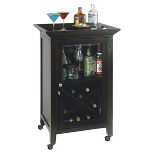 Brasfield Wine and Spirits Console