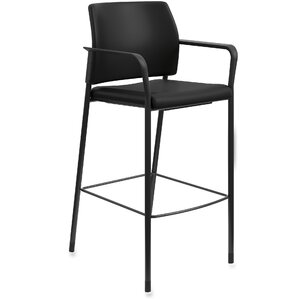 Fixed Arms Bar Stool by HON