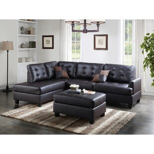Bobkona Matthew Sectional With Ottoman