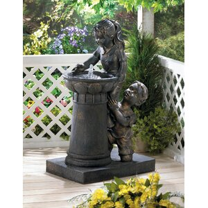 Fiberglass Playtime Park Water Fountain