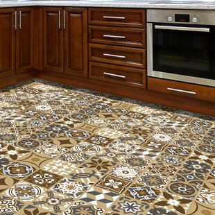 Wallace 120x60 Cm Mosaic Tile In Brown by World Menagerie