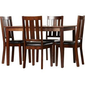 Lehigh 5 Piece Dining Set by Loon Peak