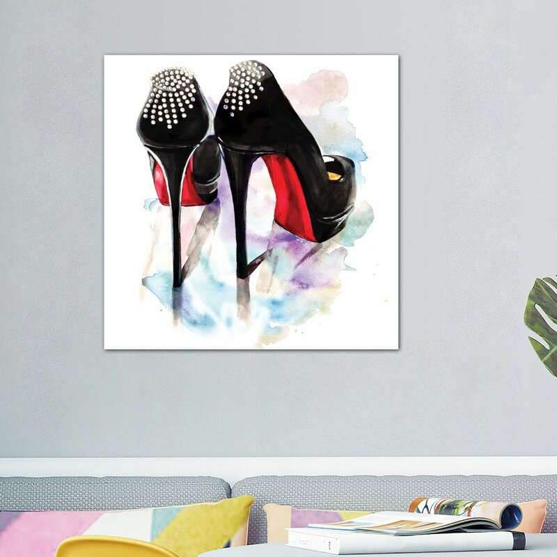 6b907cdb5af5 Willa Arlo Interiors  Christian Louboutin Classic Heels  Painting on ...