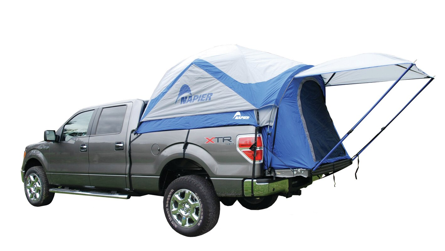 Sportz Truck Tent  sc 1 st  Wayfair & Napier Outdoors Sportz Truck Tent u0026 Reviews | Wayfair