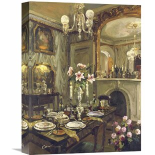 Perfect The Dining Roomu0027 By Foxwell Painting On Wrapped Canvas