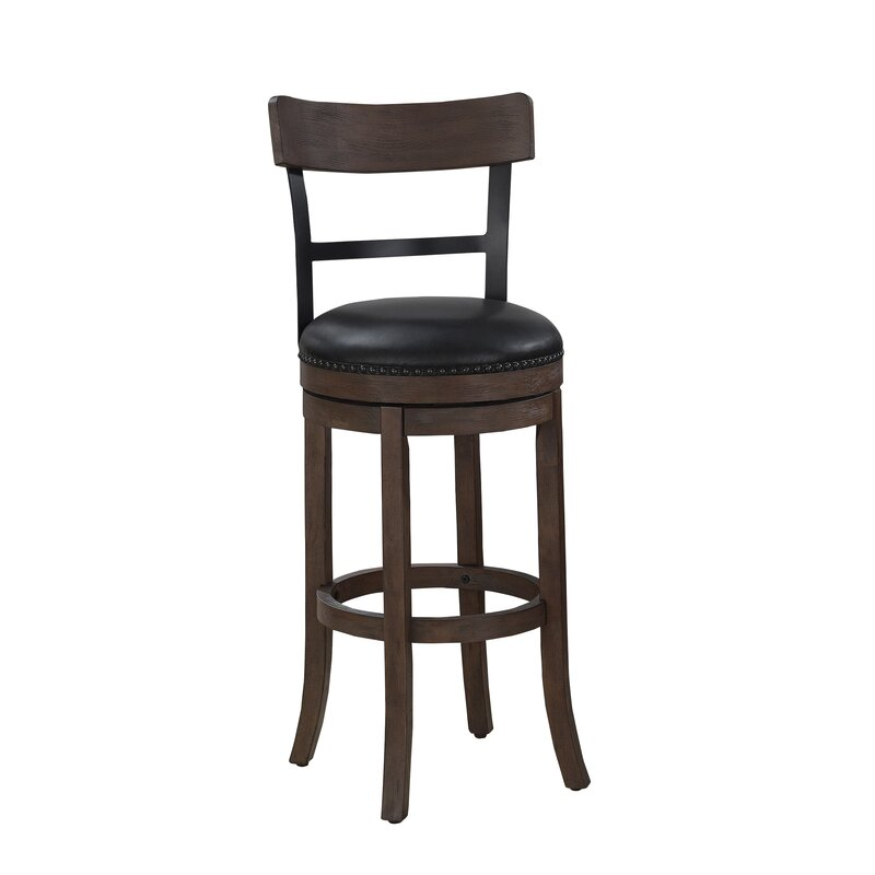 Darby Home Co Carondelet 26 Quot Swivel Bar Stool Amp Reviews