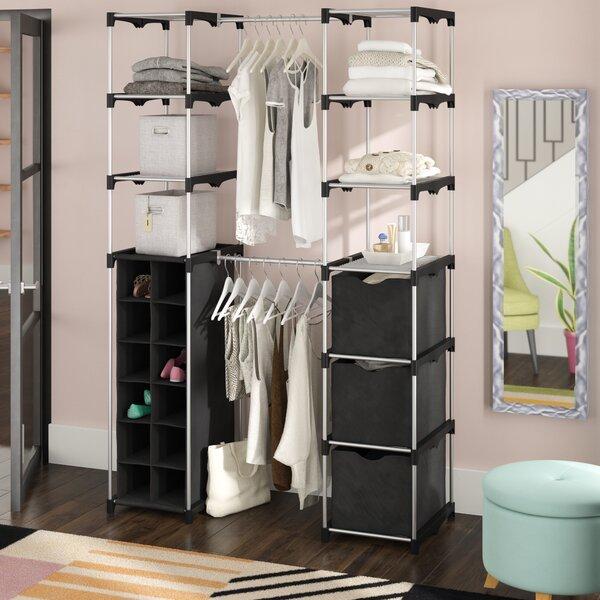 Portable Closet With Cover | Wayfair