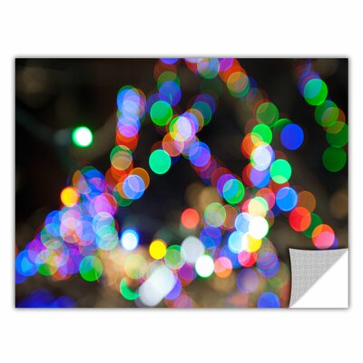 ArtWall 'Bokeh 1' by Cody York Graphic Art  Removable Wall Decal Size: 32 H x 48 W x 0.1 D