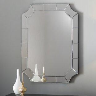 07516c35f2 Scalloped Corner Wall Mirror
