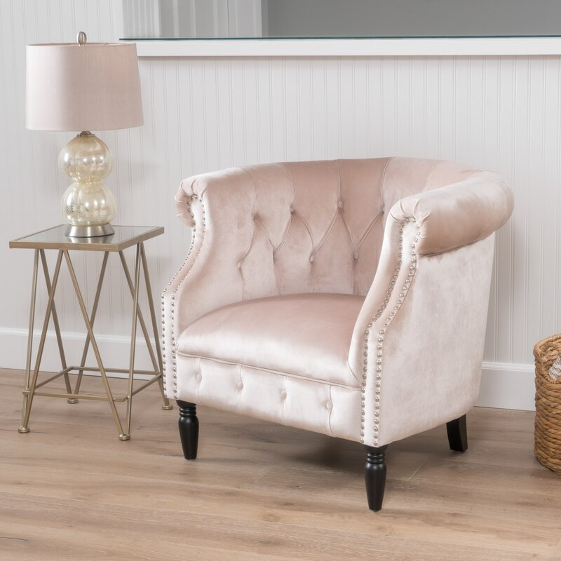 House Of Hampton Lenita Chesterfield Chair Amp Reviews Wayfair