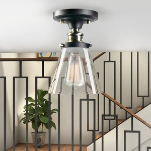 Paterson 1-Light Semi Flush Mount
