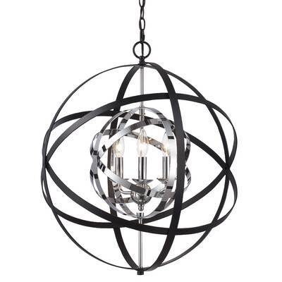 Ivy Bronx Nilda 4 Light Globe Chandelier Reviews