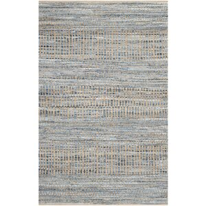 Gilchrist Natural/Blue Area Rug