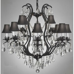 Clemence 12-Light Shaded Chandelier