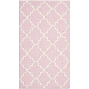 pinkivory area rug