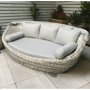Charlton Garden Daybed with Cushions by Lynton Garden