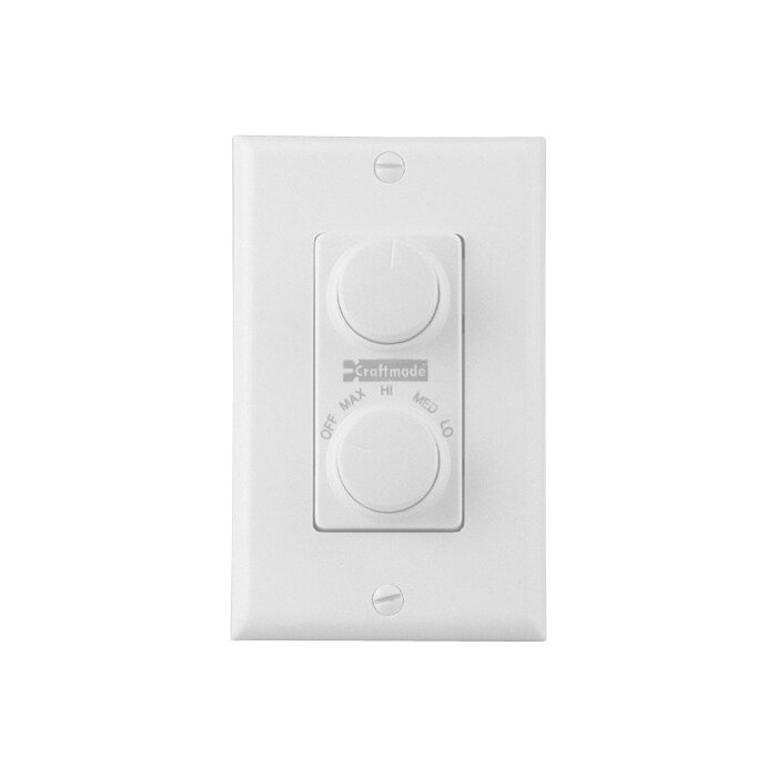 Craftmade four speed dual ceiling fan wall control reviews four speed dual ceiling fan wall control mozeypictures Gallery