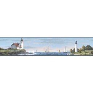 Nautical Living Sailing Lighthouse 15' x 9