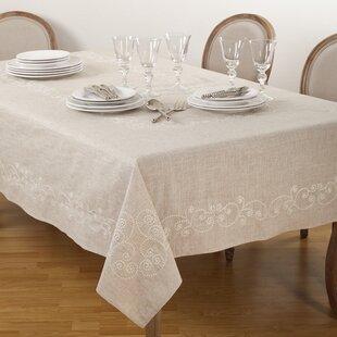 Lace, Crochet & Doilies Various Styles Elegant Vintage Linen Tablecloth~ Lace Inserts ~beautiful ~ App