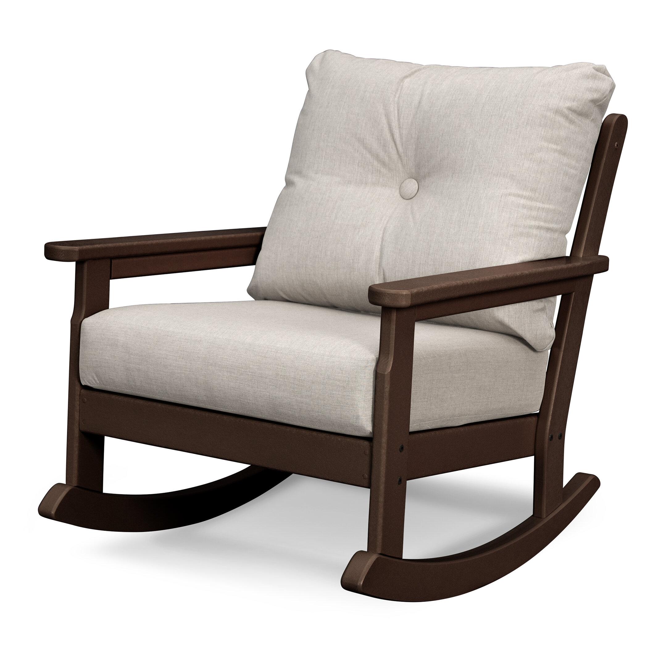 Vineyard Deep Seating Rocking Chair With Cushions