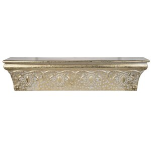 Antique Gold Wall Shelf